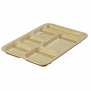 Compartment Tray,Right Hand,Tan,PK24