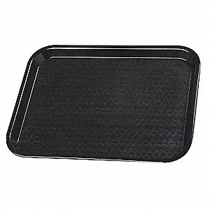 Cafe Tray,10 x 14,Black,PK24