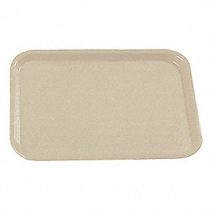 Cafe Tray,14 x 18,Beige,PK12
