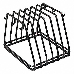 Vinyl Coated Stainless Steel Board and Brush Rack