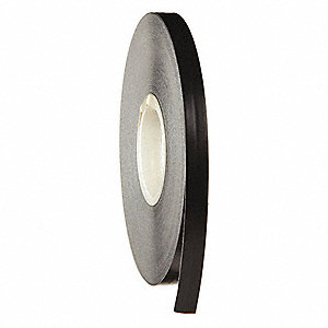 "Border Line Tape, Solid, Continuous Roll, 1/4"" Width, 1 EA"
