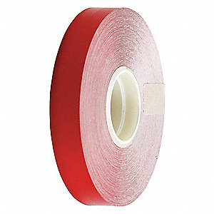 "Border Line Tape, Solid, Continuous Roll, 1/2"" Width, 1 EA"
