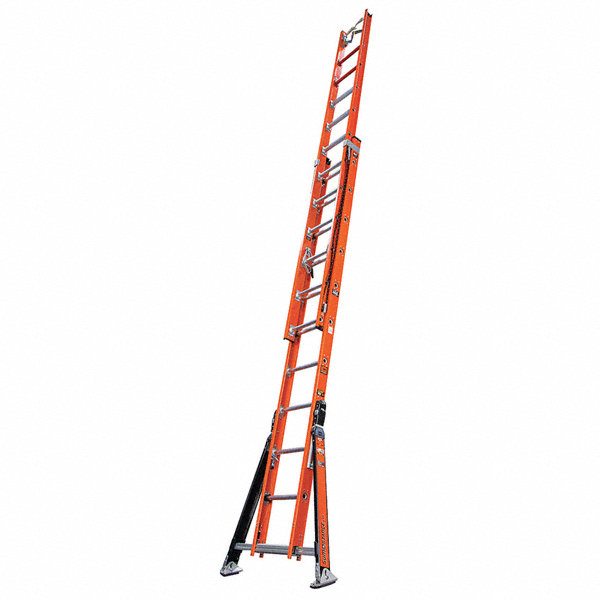 Little Giant 24 Ft Fiberglass Extension Ladder 375 Lb
