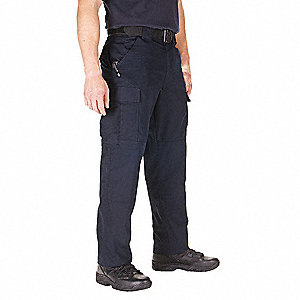"Ripstop TDU Pants. Size: S, Fits Waist Size: 27-1/2"" to 31"", Inseam: Regular, Dark Navy"
