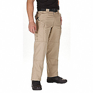 "Ripstop TDU Pants. Size: M, Fits Waist Size: 31-1/2"" to 35"", Inseam: Regular, TDU Khaki"