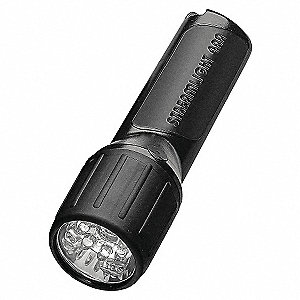 FLASHLIGHT 4AA LED BLACK