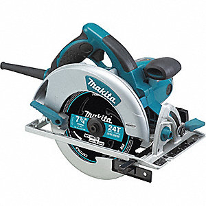"7-1/4"" Circular Saw, 5800 No Load RPM, 15.0 Amps, Blade Side: Right"