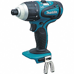 "1/4"" Hex Cordless Impact Driver, 18.0 Voltage, 1240 In.-lb. Max. Torque, Bare Tool"