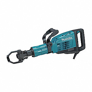 1 1/8 Hex Demolition Breaker Hammer, 14 Amps @ 120V, 730-1450 Blows per Minute