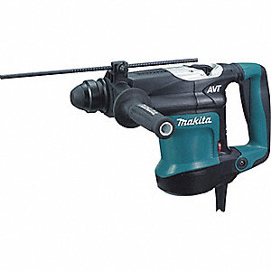 SDS Plus Rotary Hammer Kit, 8.2 Amps, 1650 to 3300 Blows per Minute, 120 Voltage