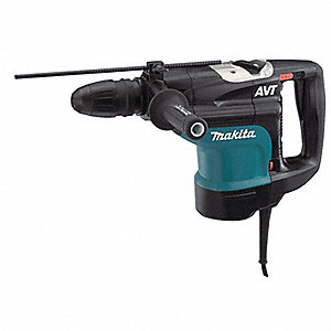 SDS Max Rotary Hammer Kit, 13.5 Amps, 1250 to 2750 Blows per Minute, 120 Voltage