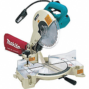 "10"" Compound Miter Saw, Double Bevel, 4600 No Load RPM, 15.0 Amps"