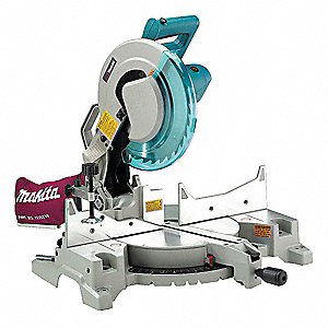 "12"" Compound Miter Saw, Single Bevel, 4000 No Load RPM, 15.0 Amps"