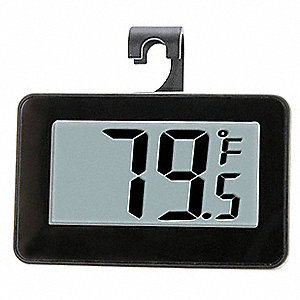 LCD Digital Food Service Thermometer with -4° to 140° Temp. Range (F)
