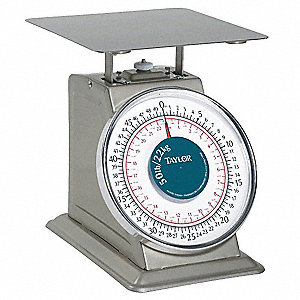 50 lb. Mechanical Analog Dial Compact Bench Scale
