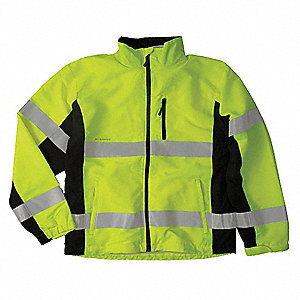 Jacket,Windbreaker,Class 3,Lime,3XL