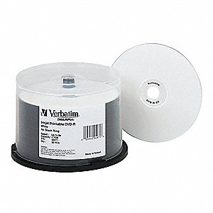 DVD-R Disc,4.70 GB,120 min,8x,PK50