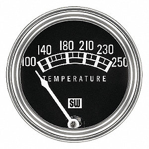 TEMPERATURE GAUGE 100-250