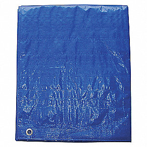TARP POLY BLUE 10X12FT
