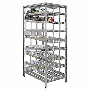 "42"" x 79-1/8"" FIFO Can Rack"