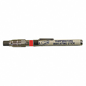 "Temperature Indicator Stick, 392°F Temp. Range, 3/8"" Tip Size"