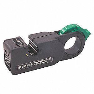 "Cable Stripper,6-1/4"" Overall Length,24 AWG Capacity"