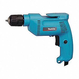 Electric Drill,3/8 In,0 to 2500 rpm,4.9A