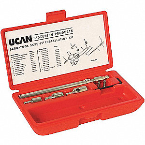 UCAN SCRU-TOOL INSTALLATION KIT