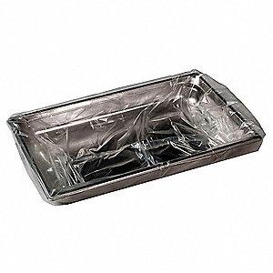 OVENABLE PAN LINER,PLASTIC,34 IN.W,