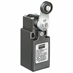 Rotary, Roller Lever General Purpose Limit Switch; Location: Side, Contact Form: 1NC/1NO, Omnidirect