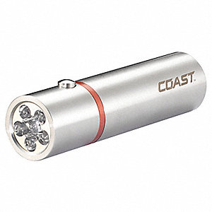 Industrial LED, Stainless Steel, Maximum Lumens Output: 171, Silver