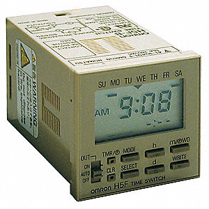 Electronic Timer, 15 Amps, 120 to 240VAC Voltage, Operation Mode: 7 Days, Number of Channels: 1