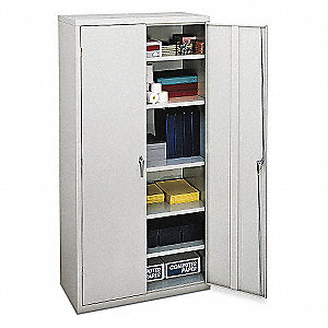 Storage Cabinet,Light Gray