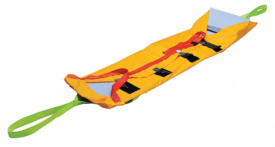 Rescue Mat,  900 lb Weight Capacity,  89 in Length,  52 in Width,  1/2 in Height,  Fabic
