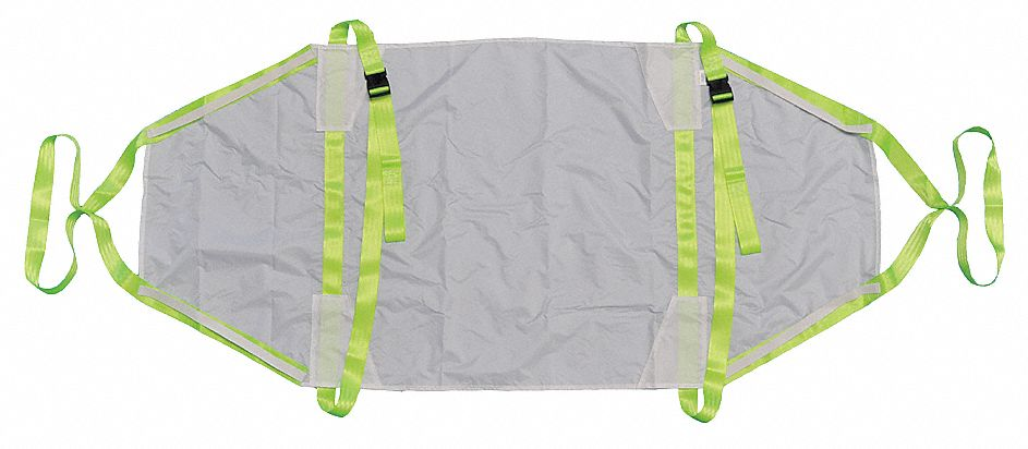 Rescue Sheet,  900 lb Weight Capacity,  75 in Length,  36 in Width,  1/4 in Height,  Fabic