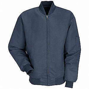 Jacket,Insulated,Nvy,Fab Wgh 7.5 oz,L
