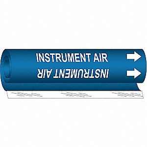 Pipe MarkeInstrument AiBl,1/2to1-3/8 In