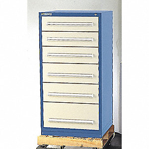 CABINET MODULAR DRAWER DARK BLUE