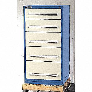 CABINET MODULAR DRAWER DARK BLUE