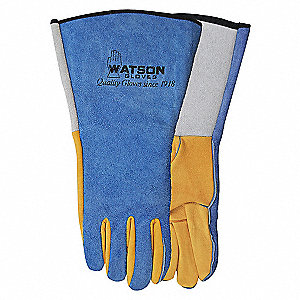 GLOVE YELLOW TAIL WELDER - L