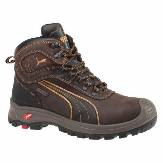6 in Work Boot, 13, EE, Men's, Brown, Composite Toe Type, 1 PR