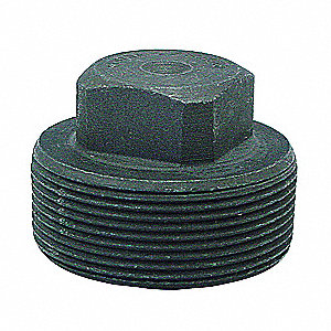 "Square Head Plug, MNPT, 3/4"" Pipe Size - Pipe Fitting"