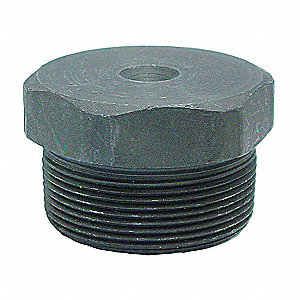 "Hex Head Plug, MNPT, 2"" Pipe Size - Pipe Fitting"