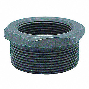 "Hex Bushing, MNPT x FNPT, 2"" x 1/2"" Pipe Size - Pipe Fitting"