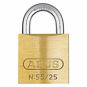 "Keyed Padlock,Different,1""W"