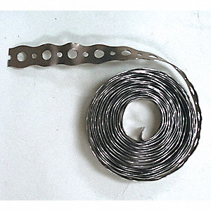 STRAPPING METAL PERFORATED 3/4IN
