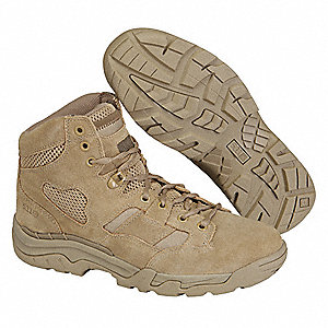Military/Tactical TACLITE Boots, Toe Type: Plain, Coyote, Size: 11