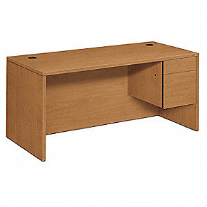 Office Desk,66 x 29-1/2 x 30 In,Harvest
