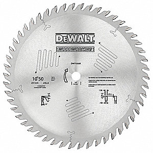 "10"" Carbide Combination Circular Saw Blade, Number of Teeth: 50"