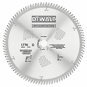 "12"" Carbide Combination Circular Saw Blade, Number of Teeth: 60"